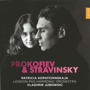 Stravinsky / Prokofiev: violin concertos - Kopatchinskaja / Jurowski, CD cover