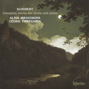 Schubert: Complete Works for Violin and Piano, Ibragimova, Tiberghien, CD cover
