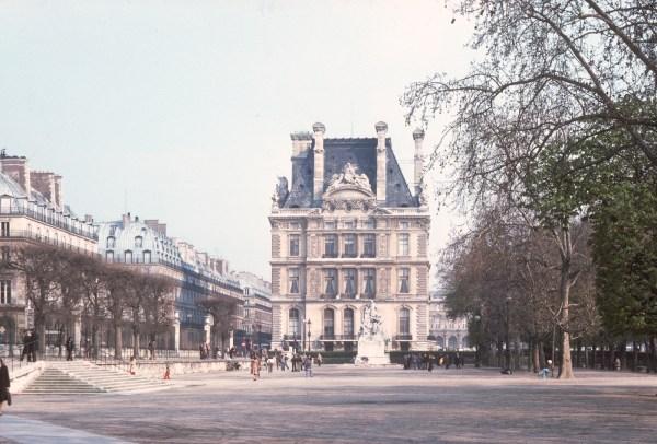 Jardin des Tuileries, Paris, 1975