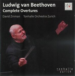 Beethoven: Complete Overtures - Zinman, CD cover