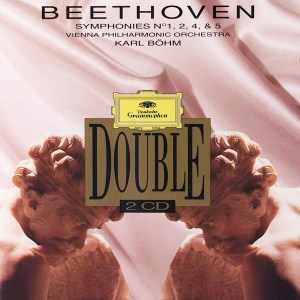 Beethoven: Symphonies 1,2,4,5 — Böhm / VPO; CD cover