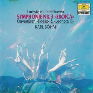 Beethoven: Symphony 3 — Böhm / VPO; CD cover