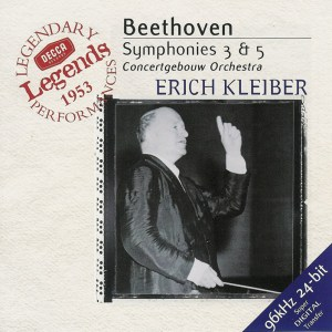 Beethoven: Symphonies 3/5 —Kleiber / Concertgebouw; CD cover