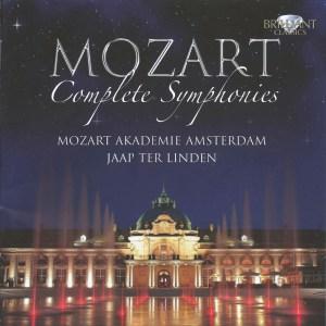 Mozart: Symphonies —ter Linden; CD cover