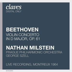 Beethoven: Violin Concerto — Milstein, Szell; CD cover