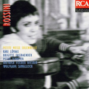Rossini: Petite Messe Solennelle — Sawallisch; CD cover