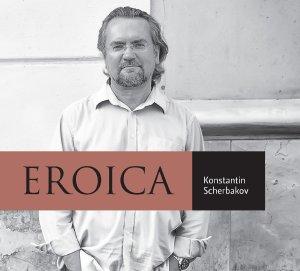 Beethoven: Eroica Variations op.35, Piano Sonatas opp.13 & 57 —Konstantin Scherbakov; CD Cover