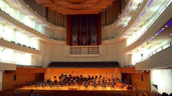 Concert Hall @ KKL, Lucerne, prior to the concert on 2015-06-29
