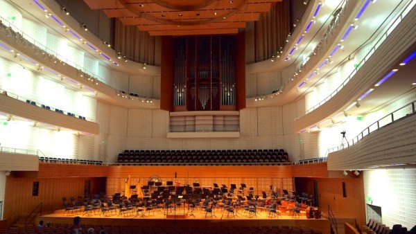 Concert Hall @ KKL, Lucerne, prior to the concert on 2015-06-29