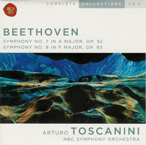 Beethoven: Symphonies 7 & 8 — Toscanini, NBC SO; CD cover