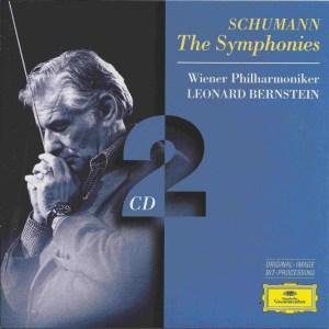 Schumann: The Symphonies — Bernstein; CD cover