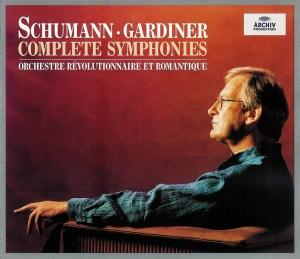 Schumann: The Symphonies — Gardiner; CD cover