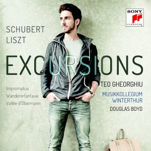 """Excursions"" — Teo Gheorghiu; CD cover"