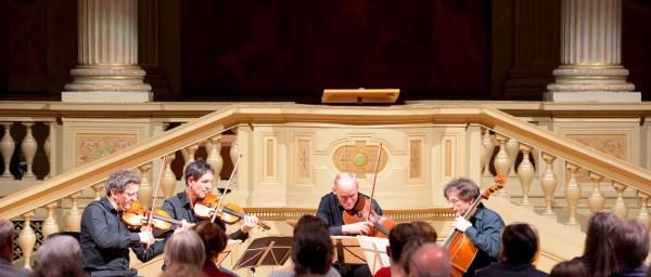 Le Quatuor Sine Nomine, Lausanne, Switzerland, Concert in Zurich 2016-01-19
