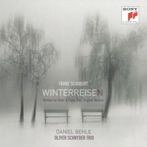 Schubert: Winterreise —Behle, Schnyder; CD cover