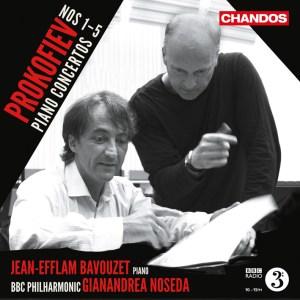 Prokofiev: Piano Concertos — Bavouzet, Noseda; CD cover