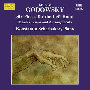 Godowsky, piano works, vol.13 (6 Pieces for the left hand) —Konstantin Scherbakov; CD cover