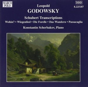 Godowsky, piano works, vol.6 (Schubert Transcriptions) — Konstantin Scherbakov; CD cover