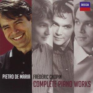 Chopin: Complete Piano Works — Pietro De Maria; CD cover