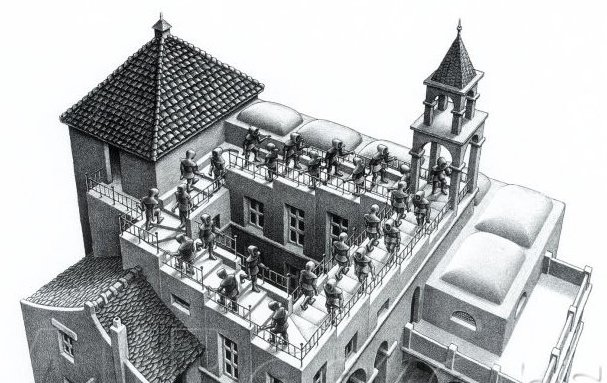 Drawing (excerpt) by Maurits Cornelis Escher (1898-1972)