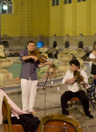 Festival Academy Budapest, 2017-06-12: Baroque in the Water (© Rolf Kyburz)
