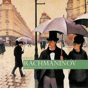 Rachmaninoff: Piano Concertos, Rhapsody — Rachmaninoff; CD cover
