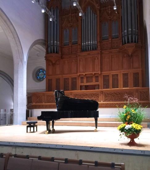 Schaffhausen, podium @ St.Johann Church, 2017-09-19 (© Rolf Kyburz)