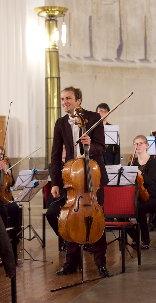 Concert Christoph Croisé, Sherniyaz Mussakhan / Young Eurasian Soloists (YES) Chamber Orchestra; Zurich, Kirche Oberstrass, 2017-11-22 (photo: Rolf Kyburz)