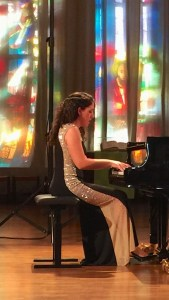 Piano Recital Beatrice Rana; Lucerne, Lukas-Kirche, 2017-11-24 (photo: Lea Kyburz)