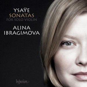 Ysaÿe: 6 Solo Sonatas op.27 —Ibragimova: CD cover