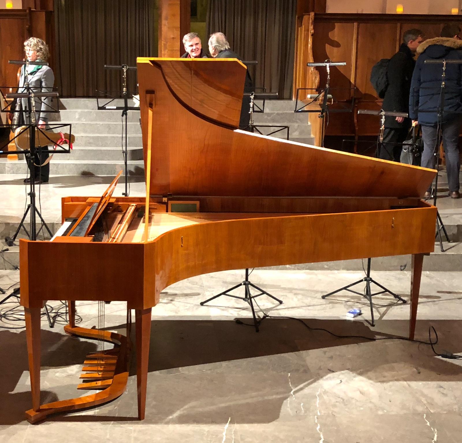 Concert Bezuidenhout / ZKO @ St.Peter, Zurich, 2018-03-07, fortepiano (photo © Rolf Kyburz)