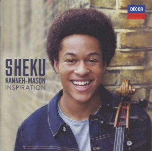 Shostakovich Cello Concerto #1 — Sheku Kanneh-Mason; CD cover