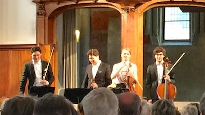 Schumann Quartett @St.Peter, Zurich, 2018-04-08 (© Lea Kyburz)