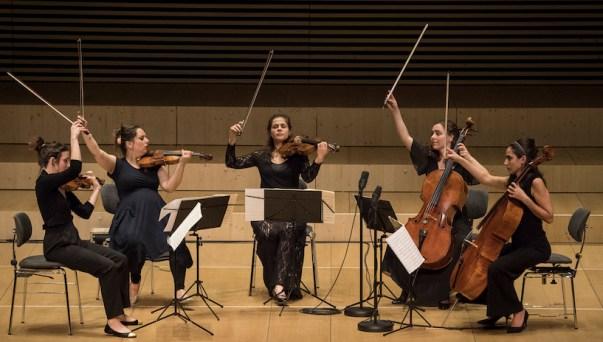 Orpheum Concert: Chiara Enderle, Quatuor Zaïde (© Thomas Entzeroth)