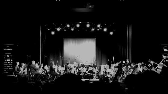 2018-05-06, Basel, Volkshaus: Geoffrey Paterson, Basel Sinfonietta, Marius Neset (© Lea Kyburz)
