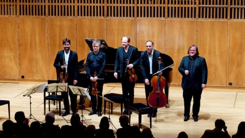 The Nash Ensemble of London —Bern, Conservatory, 2018-04-23 (© Rolf Kyburz)