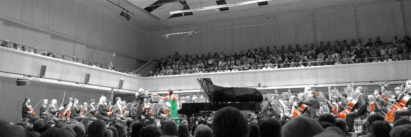 Yuja Wang, Tonhalle Orchestra Zurich / Lionel Bringuier, 2018-06-07 (© Lea Kyburz)