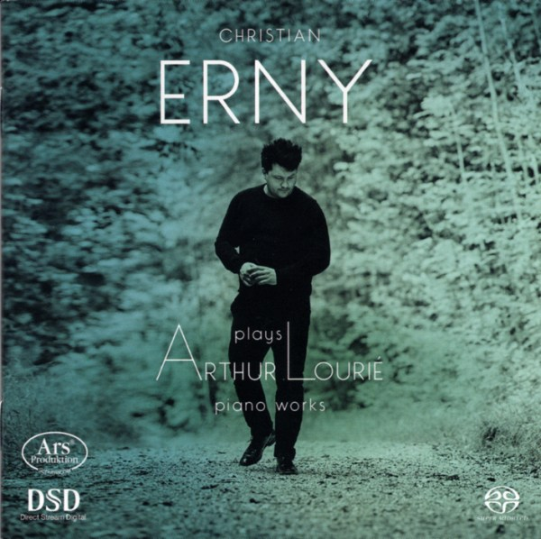 Arthur Lourié: Piano Works — Christian Erny: CD cover