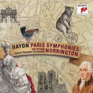Sir Roger Norrington / ZKO: Haydn, Symphonies 82 - 87, CD cover