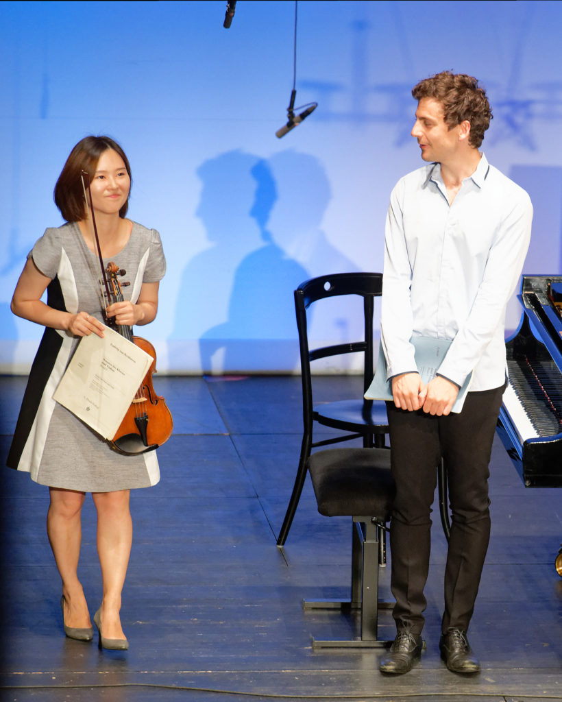 Festival Academy Budapest, 2018-07-25: Alexander Ullman & Student