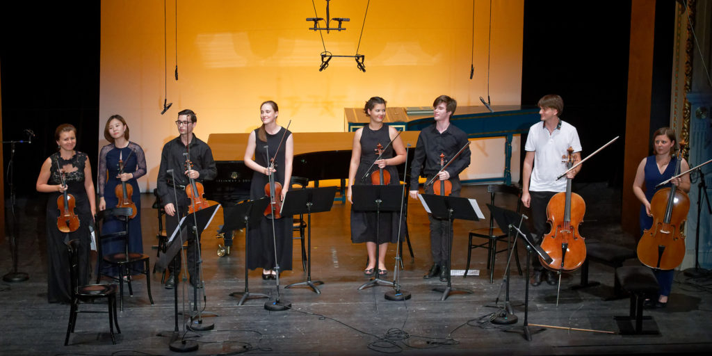 Festival Academy Budapest, 2018-07-28: Natalia Lomeiko& Students