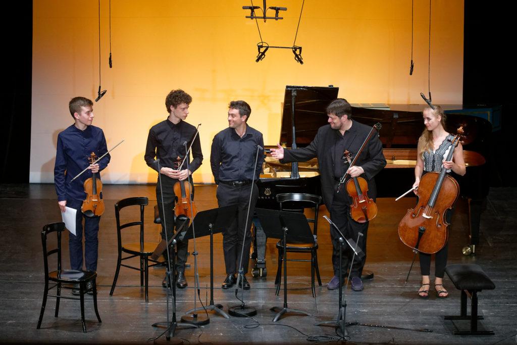 Festival Academy Budapest, 2018-07-28: Yuri Zhislin& Students