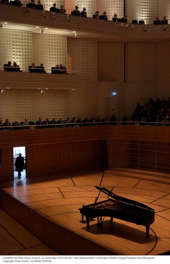 Grigory Sokolov @ Lucerne Festival, KKL, 2018-11-22 (© Peter Fischli / LUCERNE FESTIVAL)
