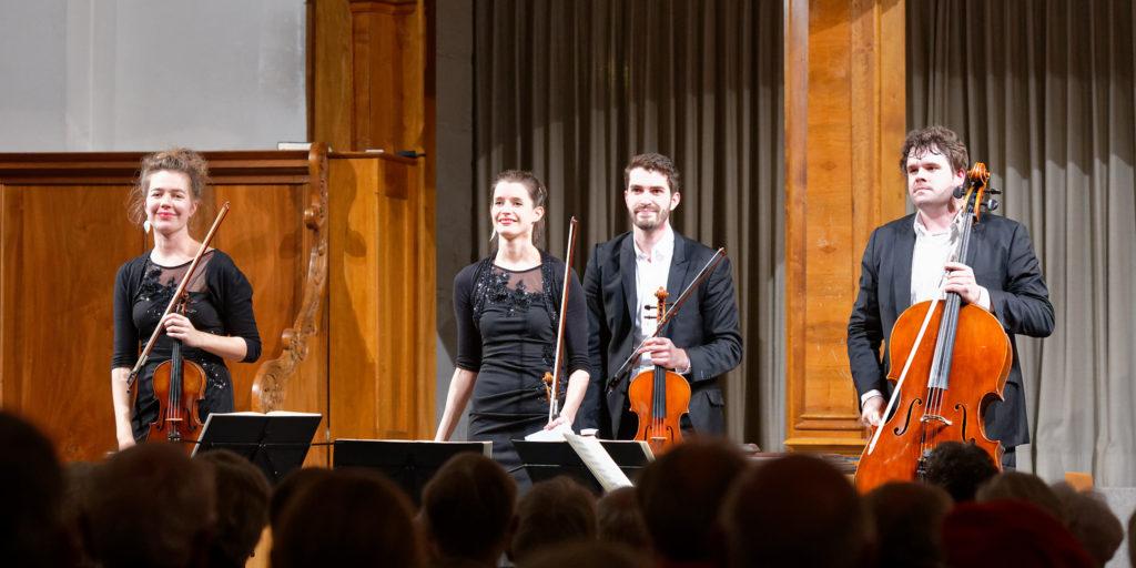 Aris Quartett, St.Peter's Church, Zurich, 2018-10-28 (© Rolf Kyburz)
