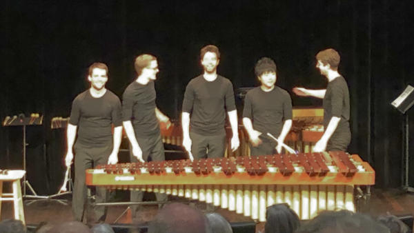 Cosmic Percussion Ensemble @ Lucerne, 2019-01-27 (© Rolf Kyburz)