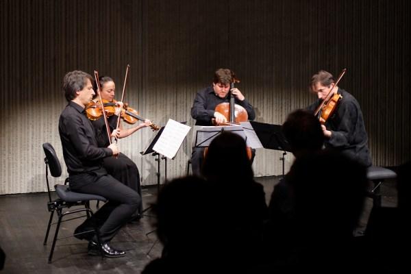 Quartetto Energie Nove, Lugano, 2019-03-16 (© Rolf Kyburz)