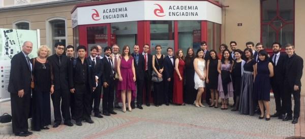 International Engadin Piano Summer Academy 2017, with Richard Octaviano Kogima, Aleksandr Kliuchko, Meta Fajdiga, Jérémie Conus(source: www.musicaldiscovery.ch)