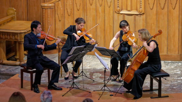 Pacific Quartet Vienna @ St.Anna-Kapelle, Zurich, 2019-04-12 (© Rolf Kyburz)