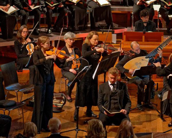 Orchestra la Scintilla (Viola d'amore) @ St.Jakob, Zurich, 2019-04-17 (© Rolf Kyburz)
