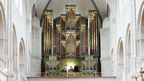 Zurich, Großmünster, Metzler organ